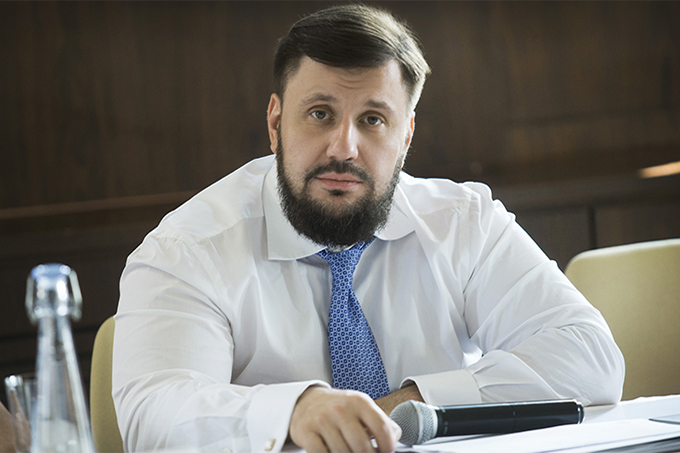 The founder of the initiative Restoring Donbass Oleksandr Klymenko