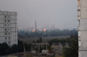 """""""Grad"""" hits at the eastern outskirts of Mariupol"""