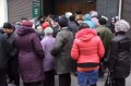 "The queue to ""Oschadbank"" in Donetsk after the decree on account's blocking on 17th of November."