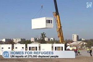 Kharkiv Homes for Donbas Refugees: Germans build housing for internally displaced Ukrainians