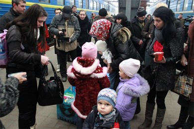 Ukraine has launched an Internet platform to help find housing and employment for IDPs