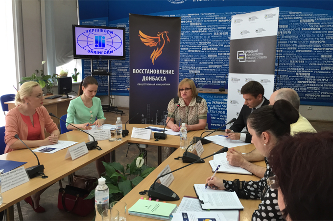 "There is no complexity in resolving problems of IDPs from Donbas in Ukraine – ""Restoring Donbas"""