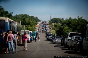 "New procedure of crossing the border of ATO area strengthens the capacity of the human factor – ""Restoring Donbas"""