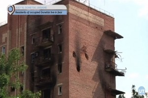 Residents of Donetsk live in fear