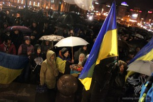 "Rally of the displaced people in Kiev ""Donbas – is Ukraine"", March 18, 2015"