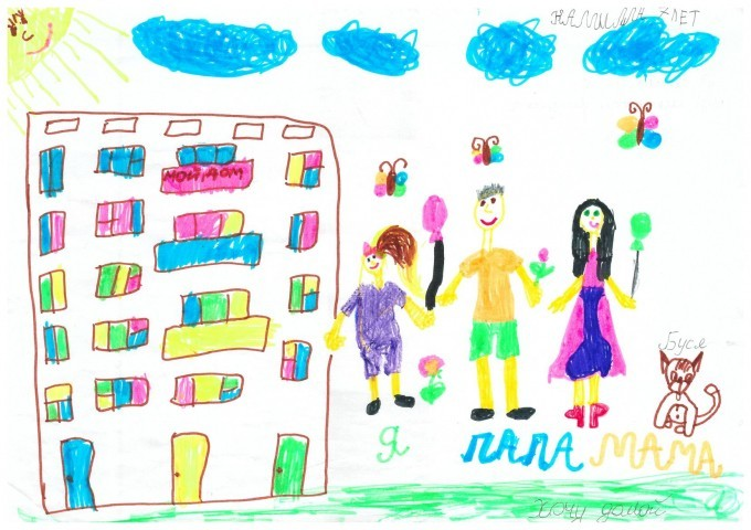 Children from the most shelled Donbas cities draw peace and war