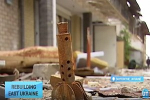 Rebuilding East Ukraine: Residents of Shyrokyne plea to return home