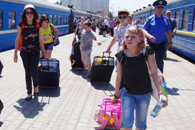 In August the number of IDP's in Ukraine increased by 26 thousand people