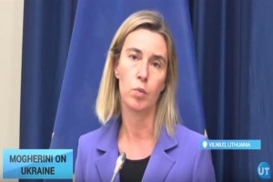 EU Foreign Policy Chief: Donbas elections must be organised by Ukraine