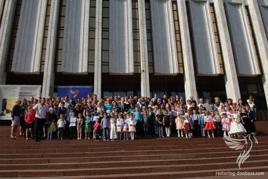 120 adopted children from Donbas appealed to Ukrainian President
