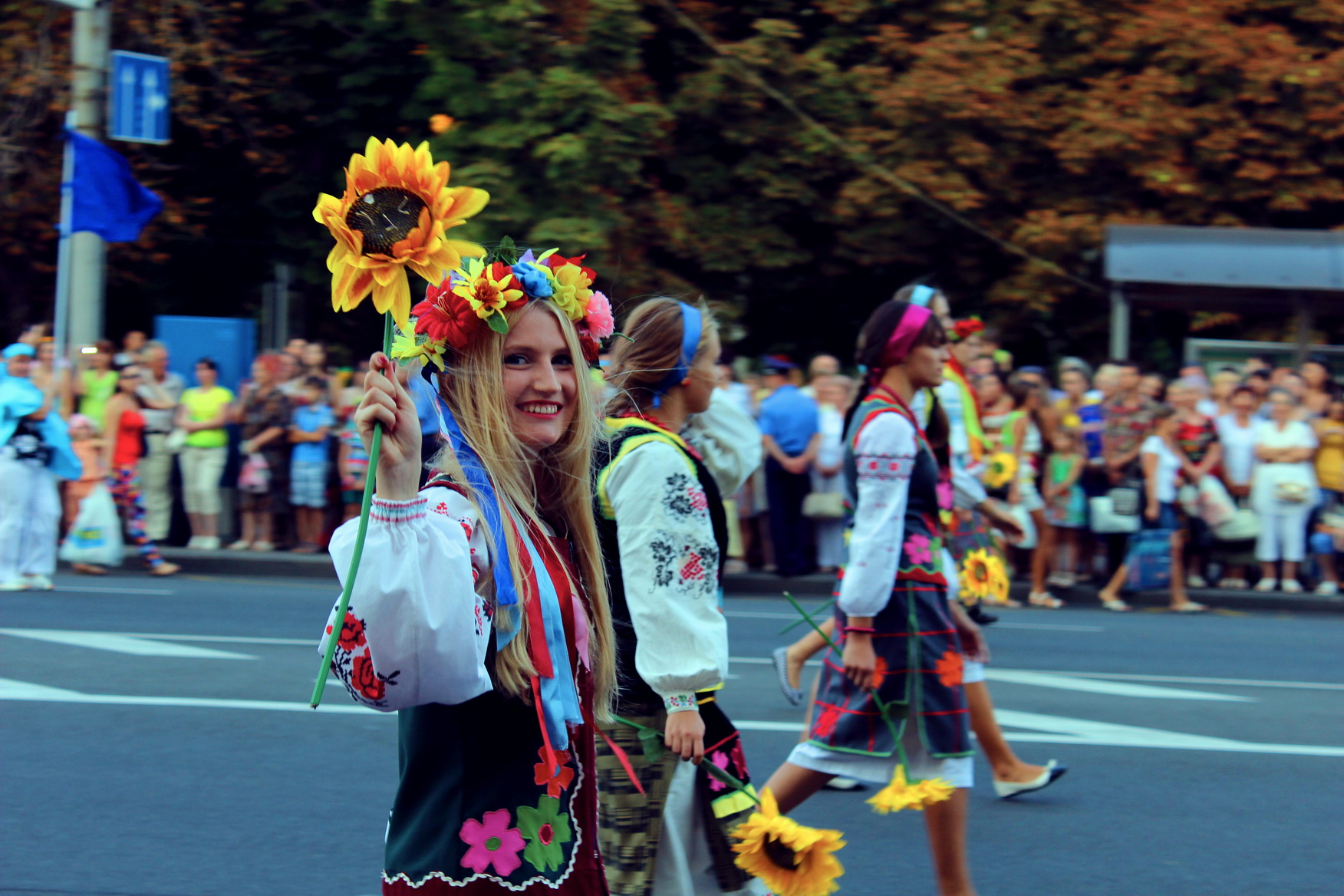 Day of Ukrainian Donetsk. Permyakova Elena