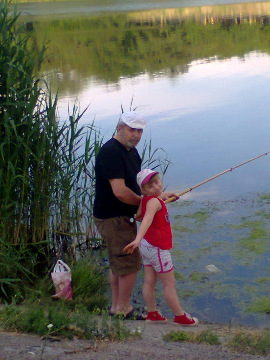 Fishing lessons from the professional. Agurova Irina