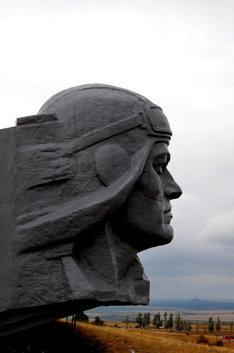 Soviet monument to the soldiers of World War II. Mikhail Kulishov