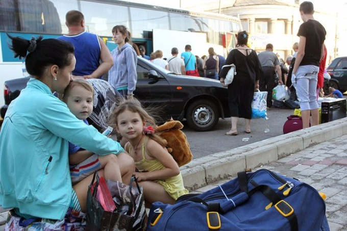 In Ukraine, there is no guardianship authorities for children, who have left Donbas