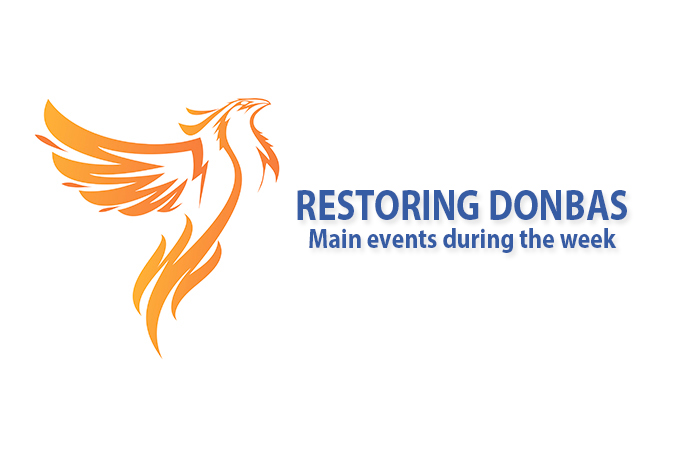 Restoring Donbas: main events October 26 – November 1