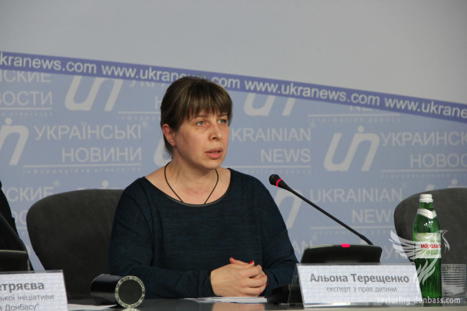 """Restoring Donbas"" demands for respect for the rights of children in Donetsk and Luhansk regions"