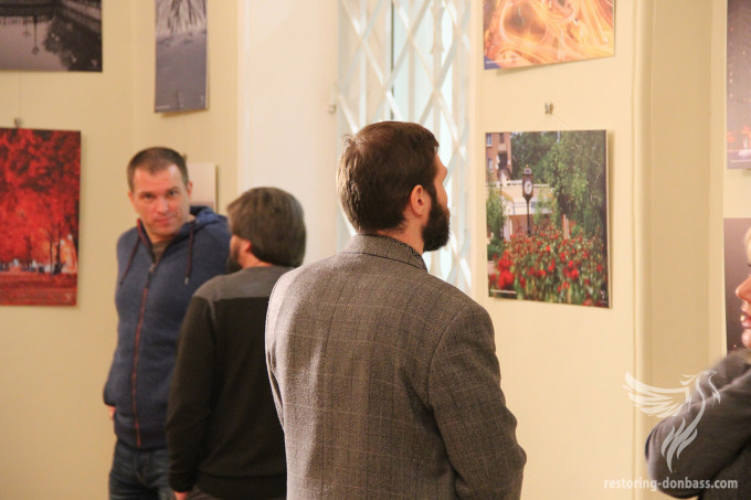 """Restoring Donbas"" invites to an exhibition of photographs of Kiev residents and Kiev guests"