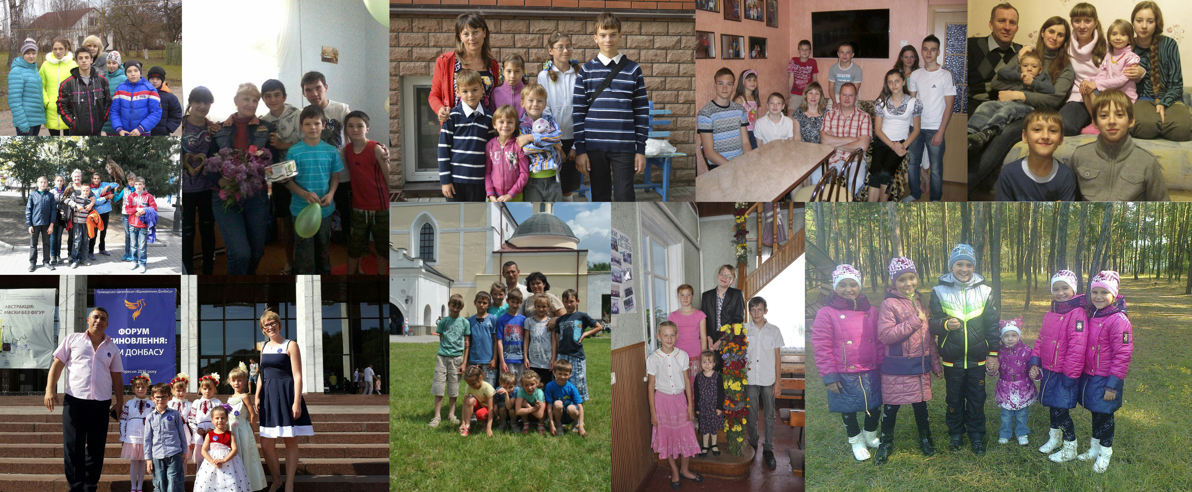 """Marathon for good"" brought presents to children of foster families and orphanges from donbas"