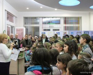 Exhibition Peace and war through the eyes of Donbas children in Kharkov