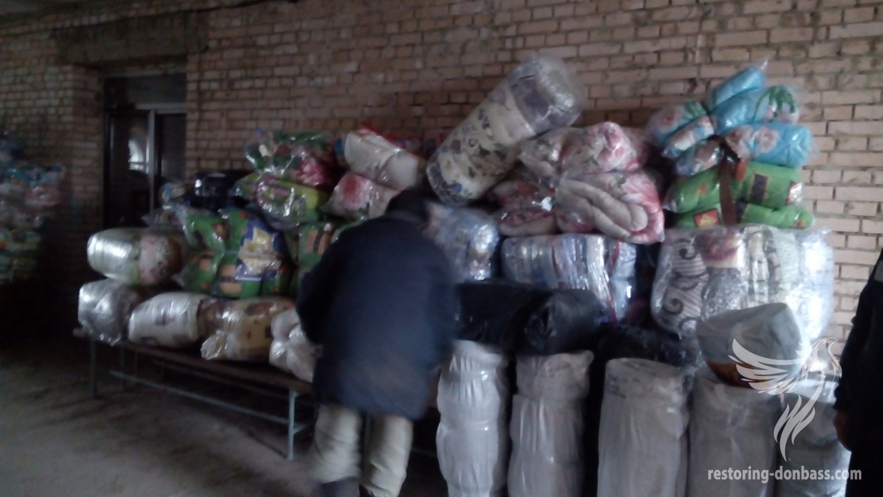 "Volunteers of ""Restoring Donbas"" delivered charitable assistance in Kurakhovo and Avdeevka"