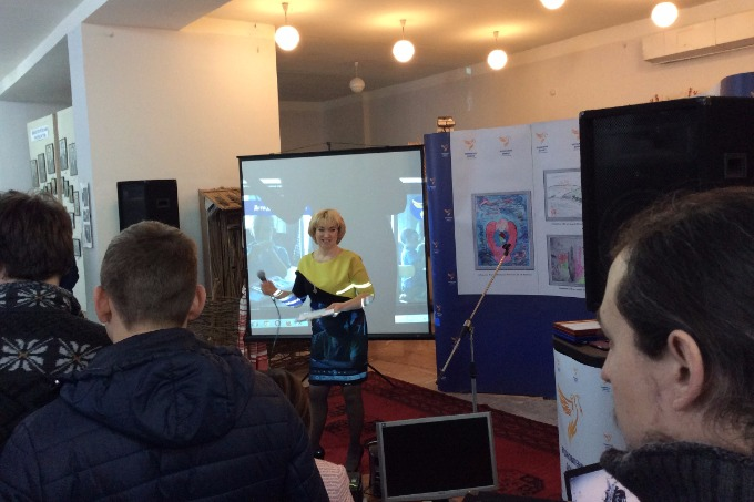 The exhibition of children's drawings of Donbas will go abroad after Lisichansk