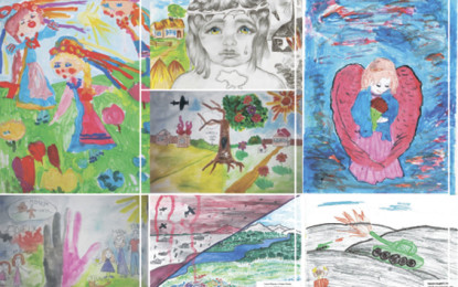 """Brussels will host an exhibition of drawings organized by """"Restoring Donbas"""""""