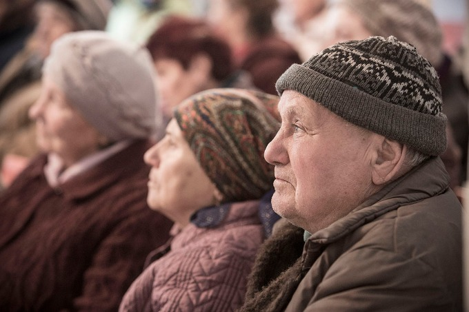 Displaced Pensioners Become Secondary Citizens in Ukraine, – Elena Petryayeva