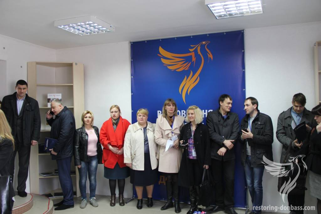 Social Aid Center for Residents of Luhansk region opened in Lysychansk.