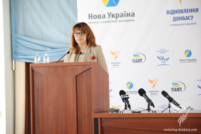 12 Steps towards Peace, Restoration and Development of Donbas and Ukraine presented in Lysychansk