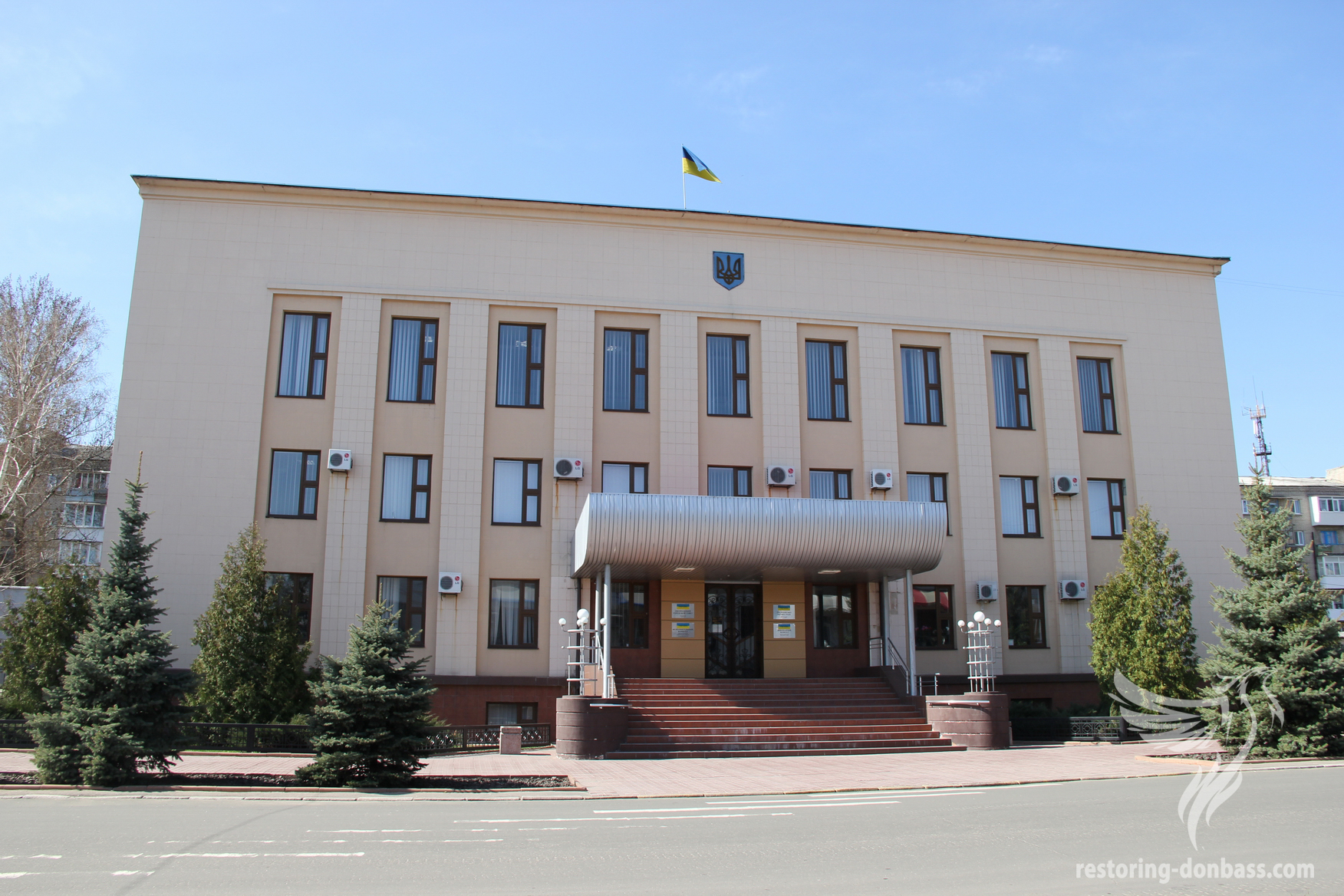 Executive committee of the city of Lysychansk, April, 2016