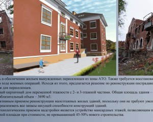 Reconstruction of a house in Sloviansk. Spasova Valeria