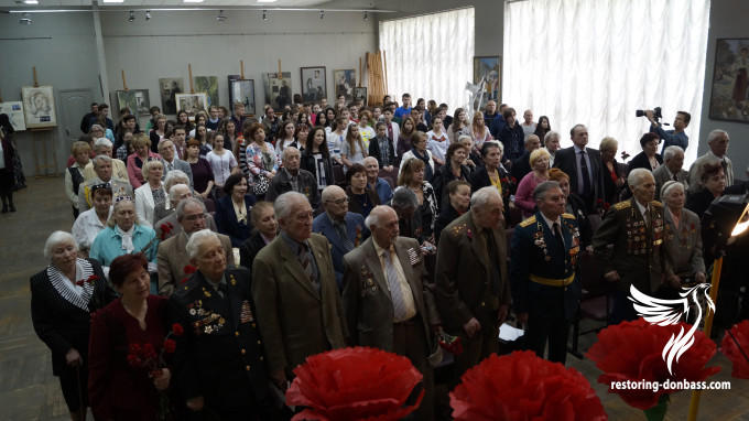 Restoring Donbas team congrats Kyiv veterans with coming Victory Day