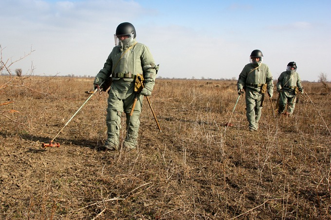 500 mln. USD for Donbas demining