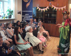 Restoring Donbas congratulated IDPs – children on the coming International Children's Day
