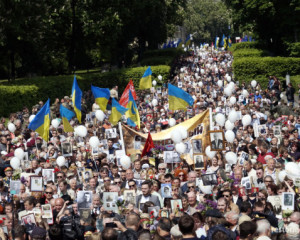 """Restoring Donbas"" congratulated veterans and have joined the event ""Immortal Regiment"" 09.05.2016"