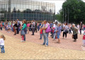 Donetsk. Scherbakov's park. Celebration on June 1 in the city