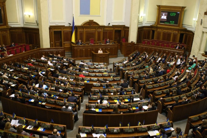 Parubiy: No override of the procedure at the election law in Donbas