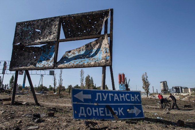 """Extinction"" of Donbas on satellite images published by analysts"