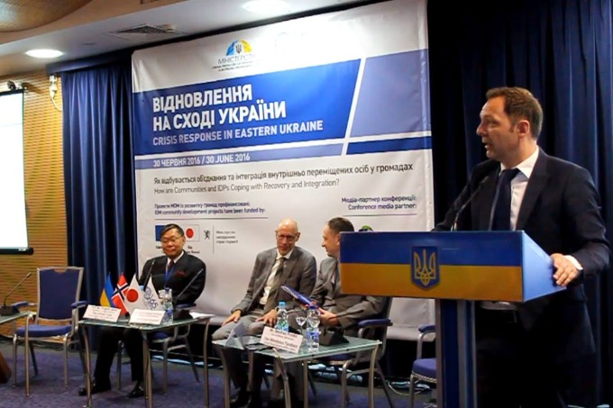 IDP integration into hosting communities discussed in Kyiv