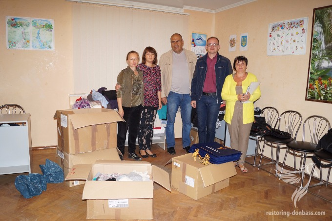 Humanitarian aid delivered to disabled war veterans in Sumy