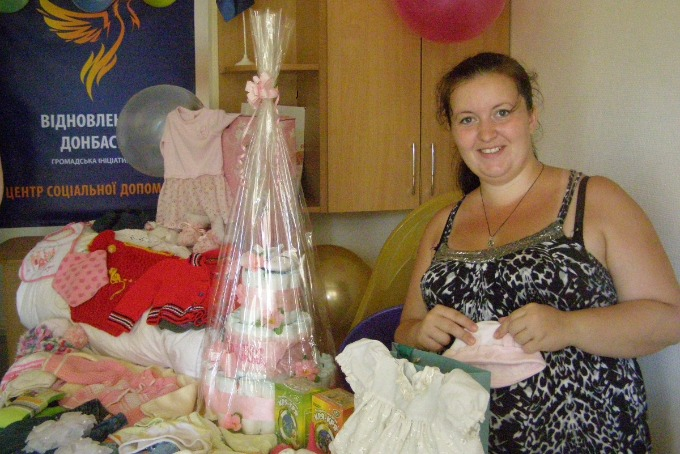 Mother of many children from Mariupol provided charitable assistance