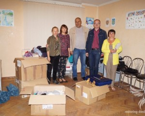 "Volunteers of ""Restoring Donbas"" have transferred humanitarian aid to Sumy"