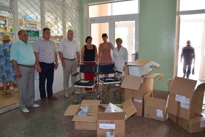 "The volunteers of ""Restoring Donbas"" delivered humanitarian aid to Luhansk region"