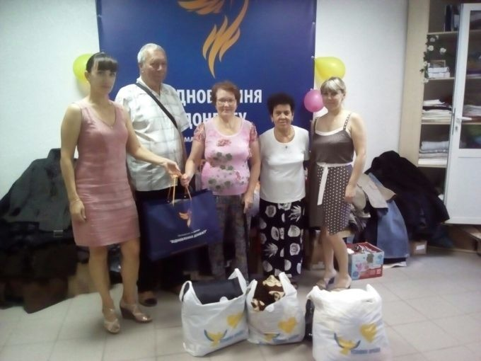 "The volunteers of ""Restoring of Donbas"" delivered humanitarian aid to Luhansk region"