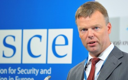 Hug urged parties to the conflict in Donbas to withdraw weapons from DFS