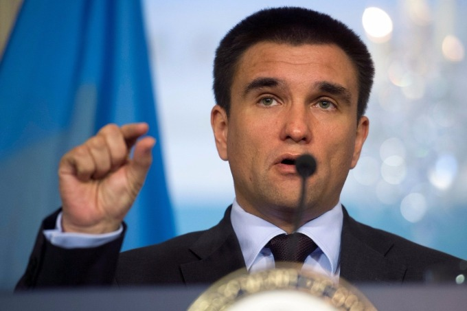 Armed mission in Donbas would be 'jump to the future' for OSCE – Ukrainian Foreign Minister Klimkin