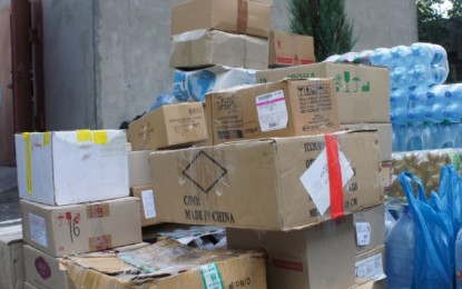 International organizations delivered 9 tons of humanitarian aid to the uncontrolled territories