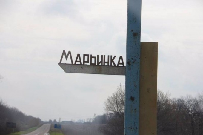 The residents of Mariinka demand to remove a checkpoint from the downtown