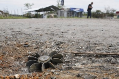 Unexploded ordnance not far from crossing points in Donbas fixed by CMM OSCE