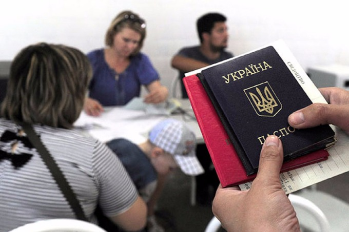 Cabinet of Ministers to give Ukrainian passports at checkpoints in Donbas